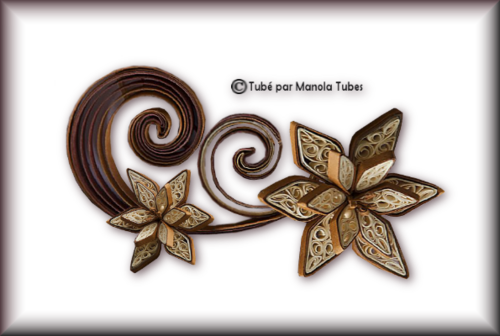 Tubes Quilling Arts floral 2996