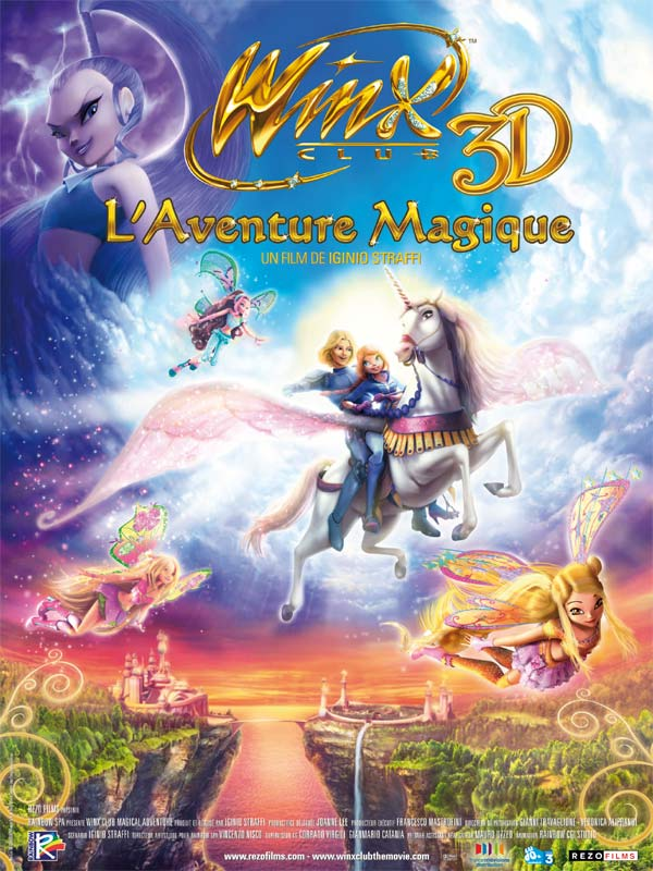 Telecharger Winx Club, l'aventure magique [BDRIP]
