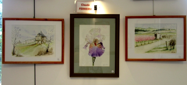 Une fête champêtre, un vide greniers et une exposition de peintures ont eu lieu à Chaumont le Bois