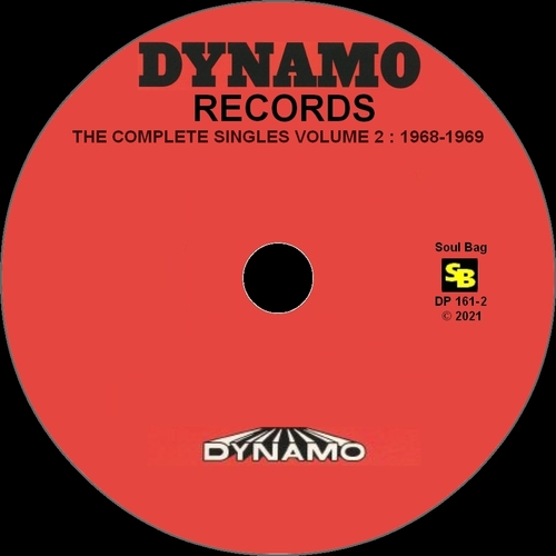 """Various Artists CD """" Dynamo Records The Complete Singles Volume 2 : 1968-1969 """" Soul Bag Records DP 161-2 [ FR ] 2021"""