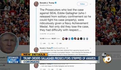 ⇒USA : Les Fusillades : Opposition de l'US Navy à Trump ?