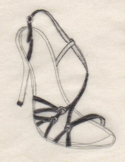 black satin knots