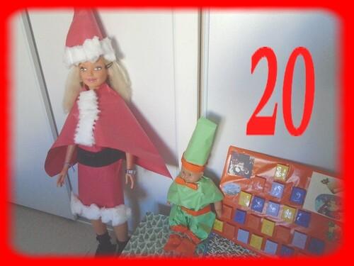 20 ème jour, pour l'Avent de Noël