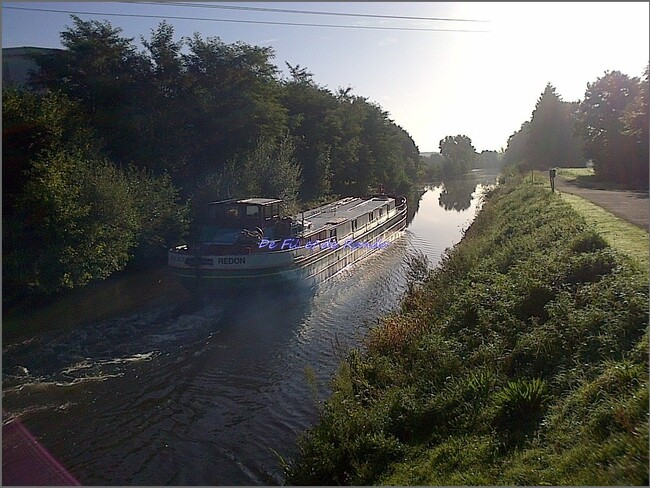 Le canal de Nantes à Brest : étape 3