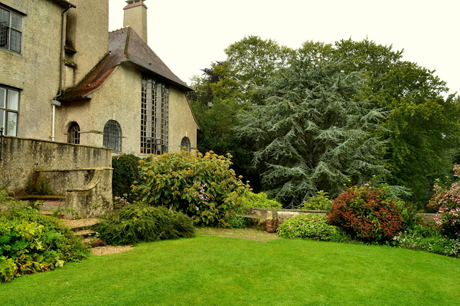 2014.08.17 Dieppe, Varangeville: parcs Moustiers, Shamrock (Seine-Maritime)