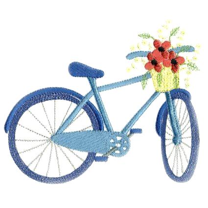 Tubes vélos brodés