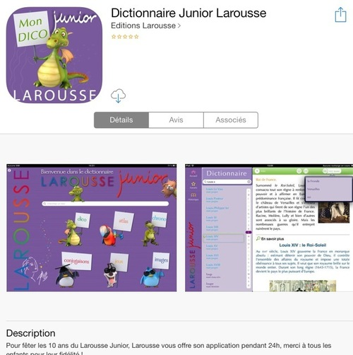 [appli] Larousse junior