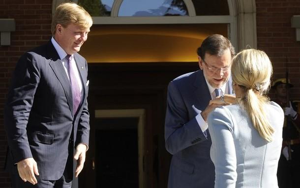 Les souverains et le premier ministre