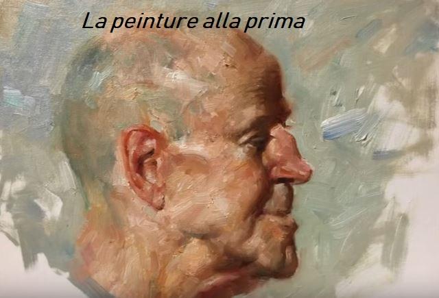 """Dessin et peinture - vidéo 2923 : La peinture """"alla prima"""" et la technique du croquis préparatoire, simple, monochrome et coloré ?"""