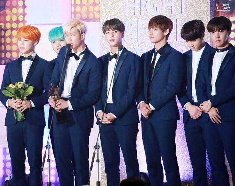 14/01/2016 Seoul Music Awards BTS