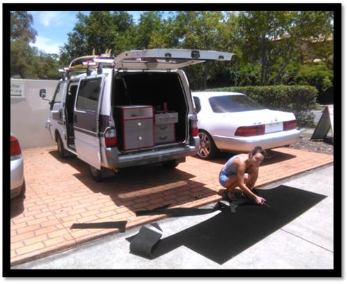Mes lubies créatives: la rénovation du van
