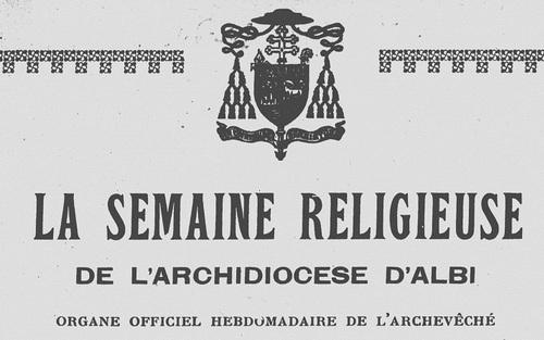 26 mars 1933 - Abbé Segur curé de Graulhet
