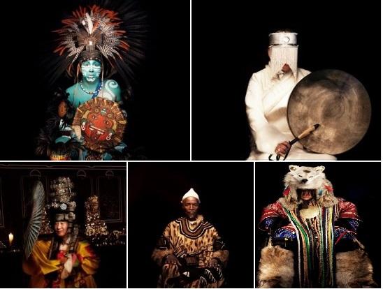Chamans du monde entier (Paweł Domurat) photos FLORE-AËL SURUN