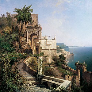 franz-richard-unterberger-in-the-garden-amalfi-coast