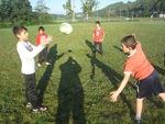 Photographies de la deuxième séance de rugby
