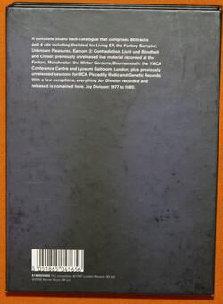 C'est cadeau! La suite...Joy Division - Heart and Soul (2008) - Partie 2