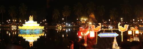 Sukhotaï, la fête de Loy Kratong