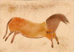 Fichier decoupe cheval prehistorique