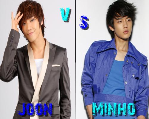 Lee Joon (MBLAQ) vs Minho (SHINee) - Round 1