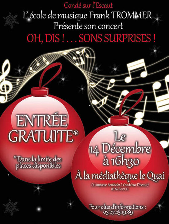 Concert, à Condé-sur-l'Escaut