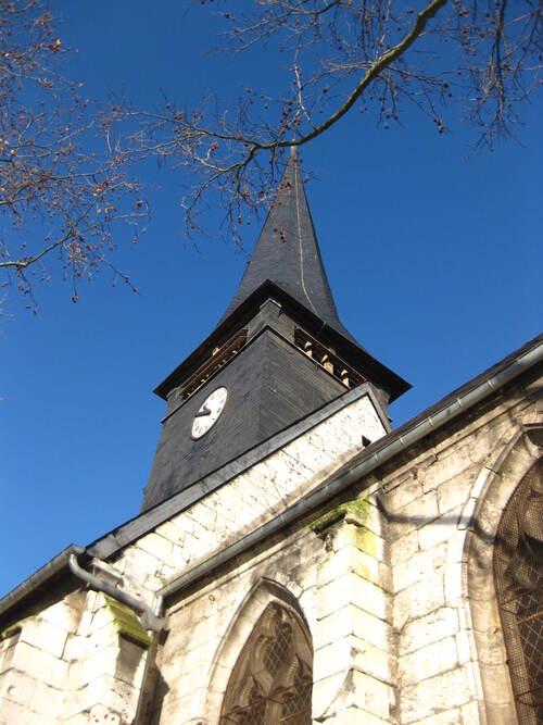 Défi n° 285 : le 1er octobre : le clocher d'une église