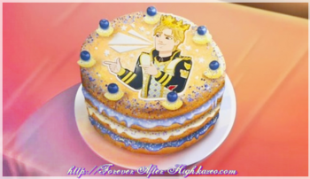 ever after high daring charming cake
