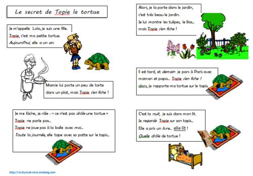 Histoires écrites pour les enfants de CP