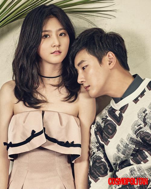 Kim Sae Ron et Yoon Si Yoon pour Cosmopolitan