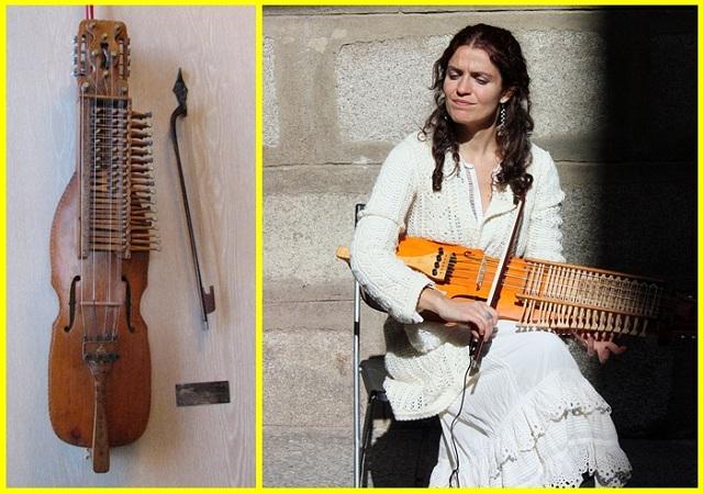 Ana Alcaide et son nyckelharpa