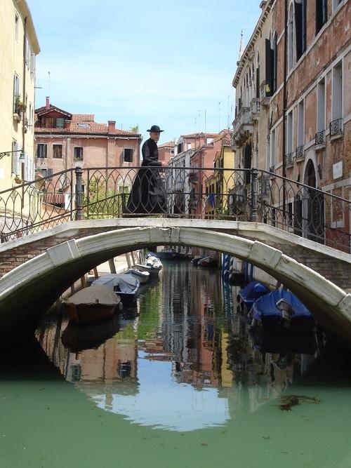 Dessin et peinture - vidéo 1800 : Mes peintures: Le curé de Venise.