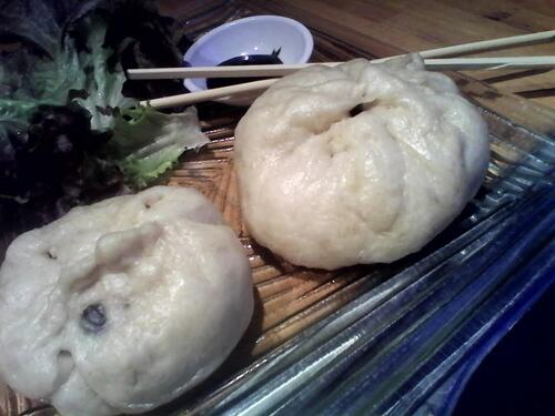Brioche Vapeur légumes/tofu à la chinoise