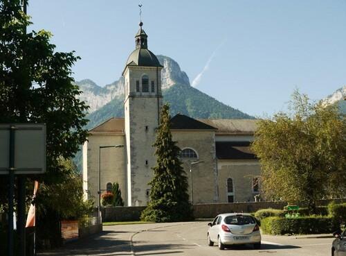 L'église de Doussard