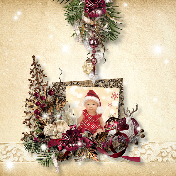 CHRISTMAS ANGELS by DOUDOU'S DESIGN