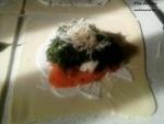 Feuilletée saumon / épinard