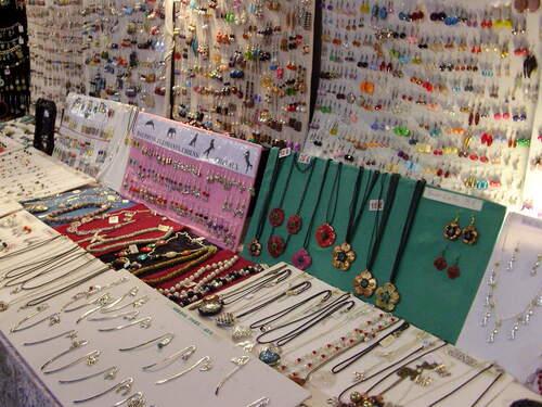 Exposition de mes bijoux sur le marché de noël de St Georges/Cher