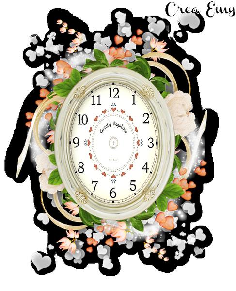 Petite Horloge pour créa flash
