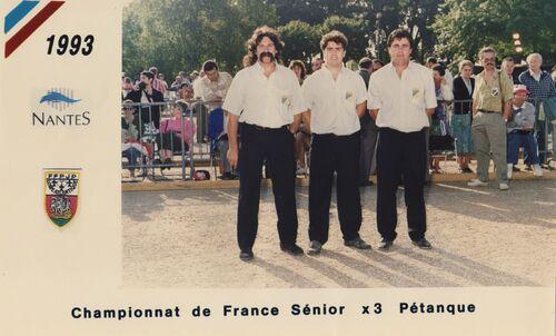 Les qualifiés du 06 de 1991 à 2000