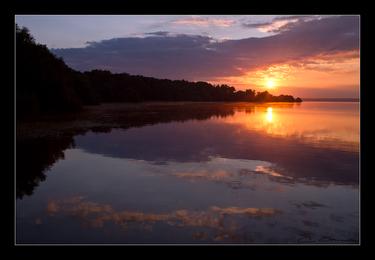 Sur le lac...