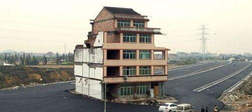 Construction très insolite