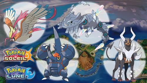 Pokemon Soleil et Lune | 4 Nouvelle Méga-Gemmes