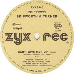 Skipworth & Turner - Can't Give Her Up