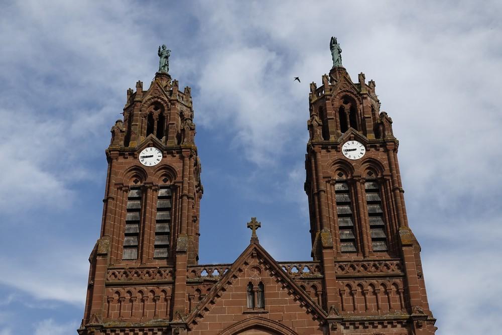 L'église Saint-Jean-Baptiste d'Espalion...