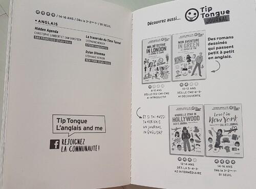 Du français à l'anglais progressivement par le biais de la lecture de romans