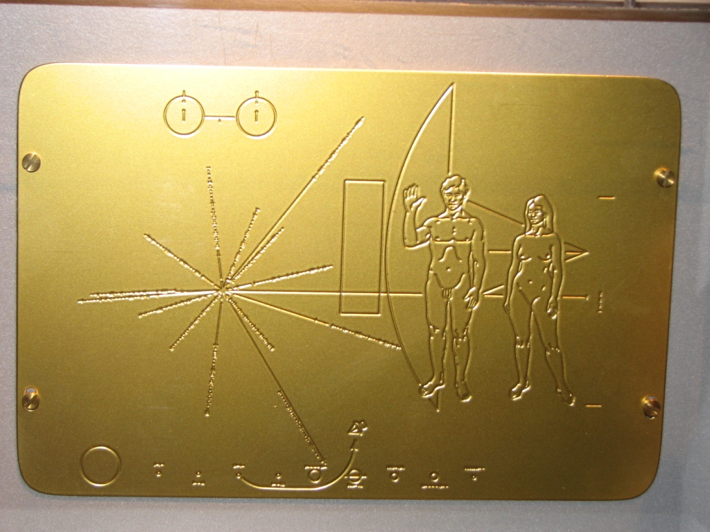 space probe pioneer 10 plaque - photo #25