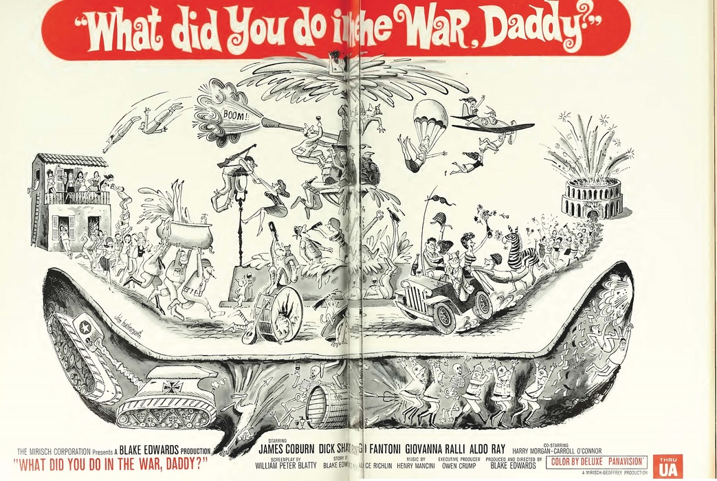 WHAT DID YOU DO IN THE WAR DADDY? BOX OFFICE USA 1966