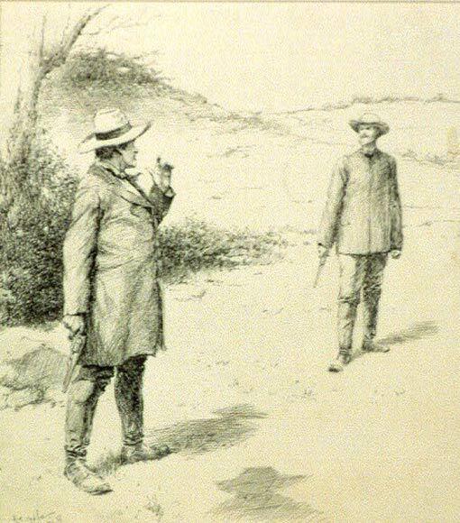 Duel en 1887