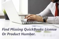 Find Missing QuickBooks License Or Product Number