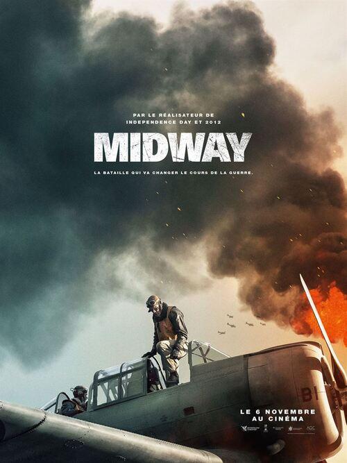 MIDWAY de Roland Emmerich ! (BANDE-ANNONCE) Le 6 novembre 2019 au cinéma