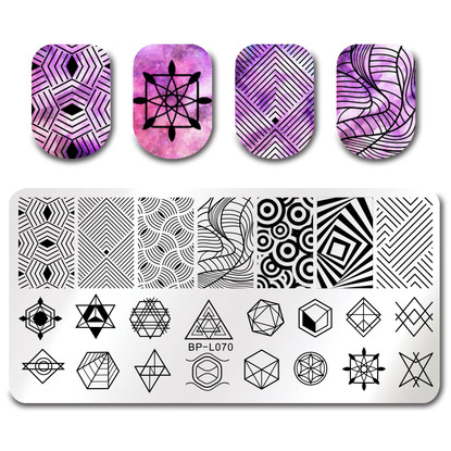 Stamping Reverse - Born Pretty BP-L070
