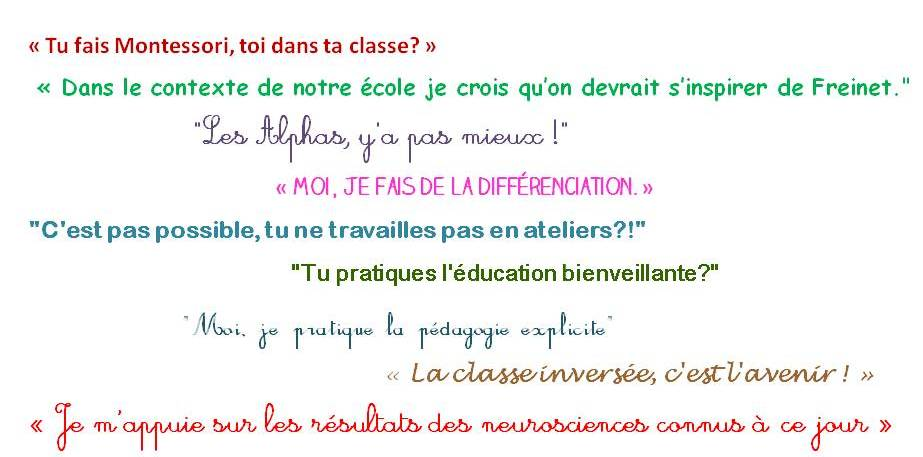 Gestion De La Classe En Classe Pascale
